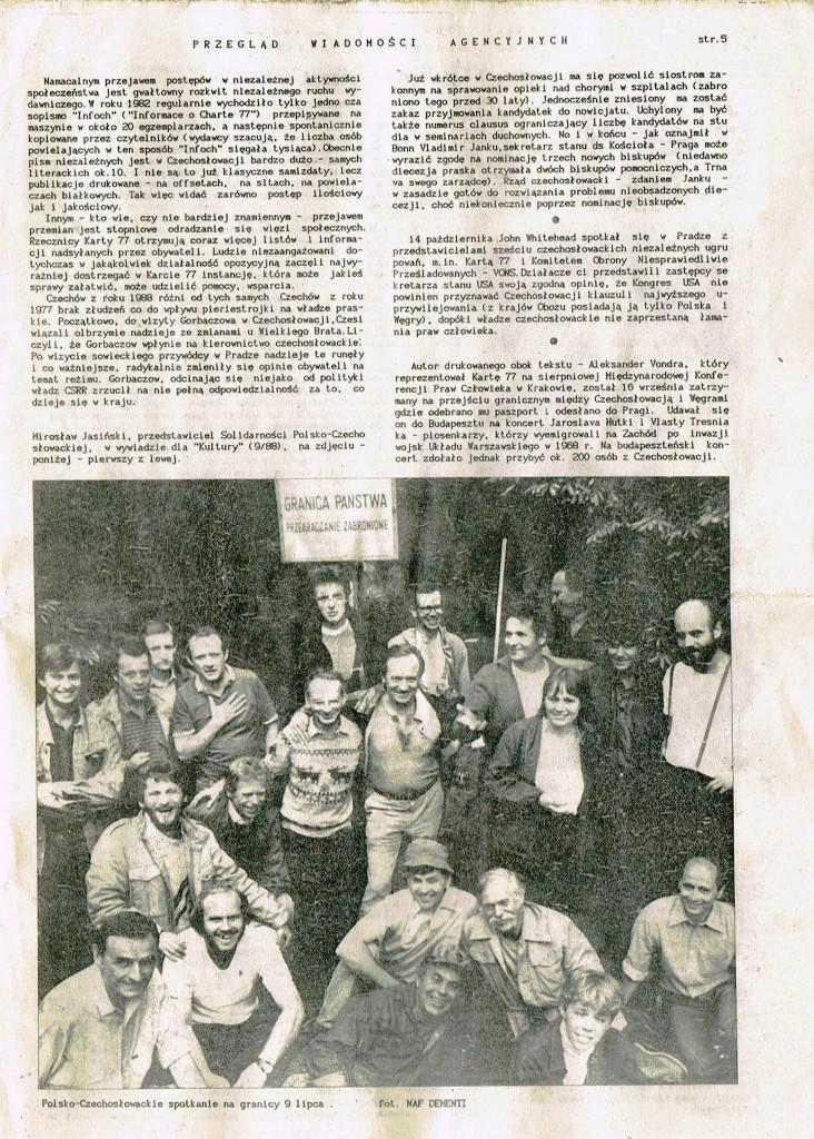 Z Archiwum Solidarności Przegląd Wiadomości Agencyjnych Strona 5