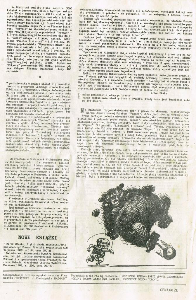 Z Archiwum Solidarności Przegląd Wiadomości Agencyjnych Strona 8